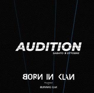 Audizione Born in klan